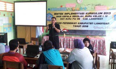 Puluhan Guru SD dan Kepala Sekolah di Lamongan Ikuti Bimtek Implementasi K13