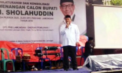 Jelang Pilkada Lamongan, Ribuan Warga Nahdliyin Hadiri Silaturrahmi dan Konsolidasi Pemenangan Sholahuddin