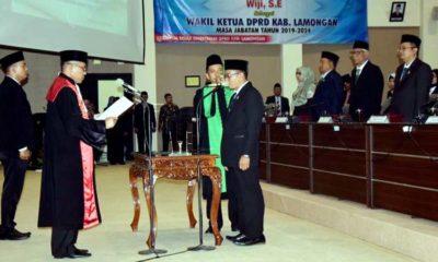 Komposisi Pimpinan DPRD Lamongan Akhirnya Sudah Lengkap