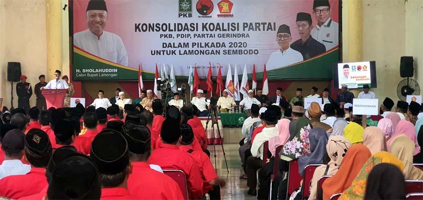 Gerindra Usung Kaji Sholahuddin Sebagai Cabup Lamongan, Susul PKB Dan PDI Perjuangan