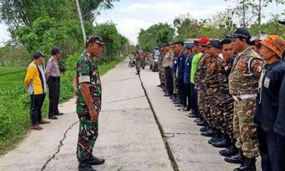 TNI Bersama Masyarakat Paciran Dukung Gerakan Penghijauan