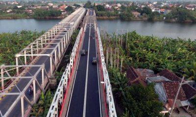 Akses Jalan Poros Nasional Jembatan Cincin Babat Segera Dibongkar Untuk Perbaikan, Satlantas Polres Lamongan Siapkan Jalur Alternatif