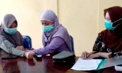 Dua Mahasiswa Asal Lamongan dari RRT Langsung Disambut Tim Kesehatan