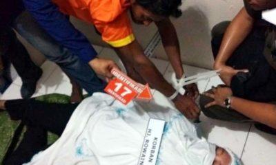 Pembunuhan Hj Rowaini Direkonstruksi, si Anak Tiri Peragakan 23 Adegan