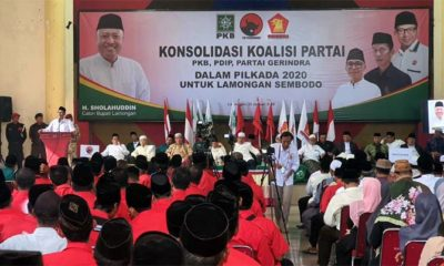 Rekom DPP PDI Perjuangan Turun ke H Sholahuddin dan Sa'im di Pilkada Lamongan