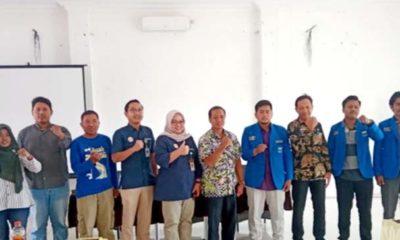 Refleksi 100 Hari Kerja Jokowi-Ma'ruf Amin, PMII Lamongan Gelar Diskusi Undang Pemkab dan BPJS