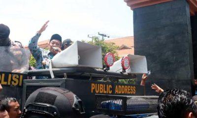 Ribuan Petani Tambak Luruk DPRD dan Pemkab Lamongan, Protes Keras Pengurangan Jatah Pupuk Bersubsidi