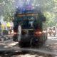 Lamongan Covid-19 Semprotkan Disinfektan ke Akses Jalan, Polres Kerahkan Water Cannon