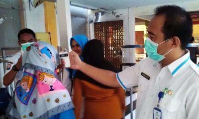 Screening Wajib Dilakukan Bagi Pegawai, Pasien dan Pengunjung RSUD Soegiri