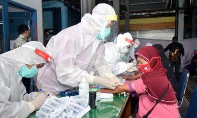 GTPPC Lamongan Targetkan 10 Ribu Tes Rapid Massal Rampung Akhir Mei