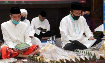 Pemkab Lamongan Gelar Khotmil Qur'an Tadfa'ul Bala' Menuju New Normal