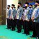 Ketua BWI Pusat Prof Muhammad Nuh Kukuhkan Pengurus BWI Perwakilan Lamongan
